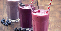 SOMMER-DRINKS:­Smoothies und Shakes