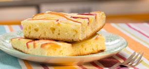 Apfelkuchen vom Blech: schnell und fein