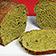 Veganes grünes Brot
