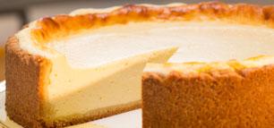 Käsekuchen: herrlich saftig und cremig