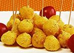 Mozzarella-Knusperkugeln
