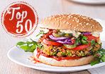 Top 50: Vegane Hauptgerichte