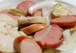 Grillwurst-Salat