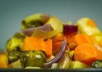 Winter Gemüse aus dem Backofen