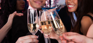 Die perfekte Party an Silvester