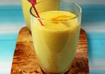 Gelber Smoothie