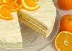 Orangen-Torte