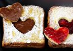 French Toast mit Herz