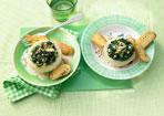 Leckere vegetarische Rezepte mit Spinat