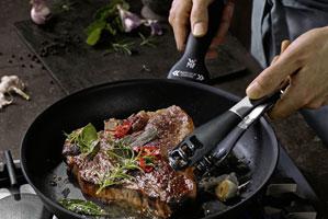 Heiss auf Steak