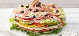 Salattorte für euer Buffet