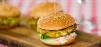 Mini-Halloumi Burger
