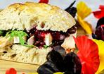 Fußballer-Sandwich