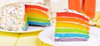 Quietschbunte Kuchen
