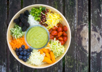 Regenbogen-Salat
