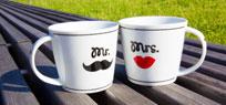 Mr & Mrs zum Verschenken