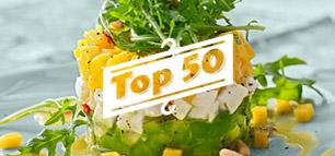 Top 50: neue vegetarische Hauptgerichte