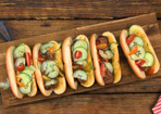 Cheesy Hot Dog