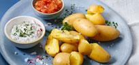 Kartoffeln mal leicht