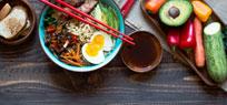 Ramen - japanische Suppe