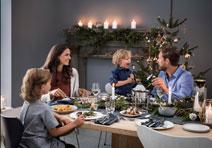Zusammen isst man glücklicher. Weihnachten mit WMF.