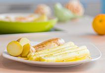 Spargel mit Orangensauce – Liaison zum Verlieben!