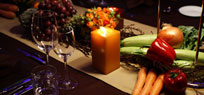 Earth Hour 2014 - Dinner bei Kerzenschein
