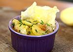 Kartoffelgratin mit Käsechip