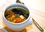 Japanische Gemüsesuppe