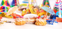 Karneval: Süßes Gebäck, Partyrezepte & Co