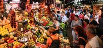Kulinarisch reisen: Märkte in Barcelona, Turin & Co