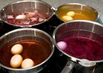 Eier selber färben