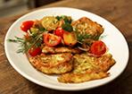 Zucchini-Ricotta-Puffer