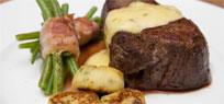 Chateaubriand mit Speckbohnen