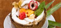 Tropischer Fruchtsalat Exotisch