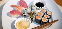 Sushi Variationen Drei verschiedene Rezepte
