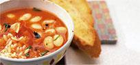 Tomaten Bohnen Suppe Von Essen und Trinken