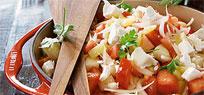 Trampo Salat Von Essen und Trinken