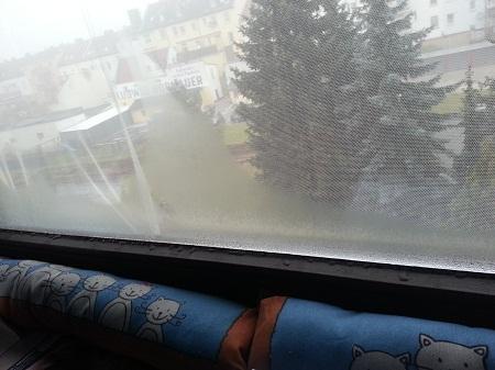 Fenster Beschlagen Draußen Kalt 914589056