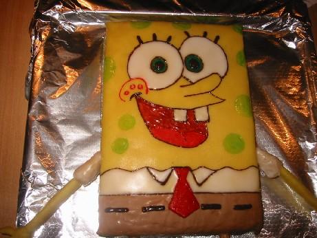 Spongebob kuchen anleitung