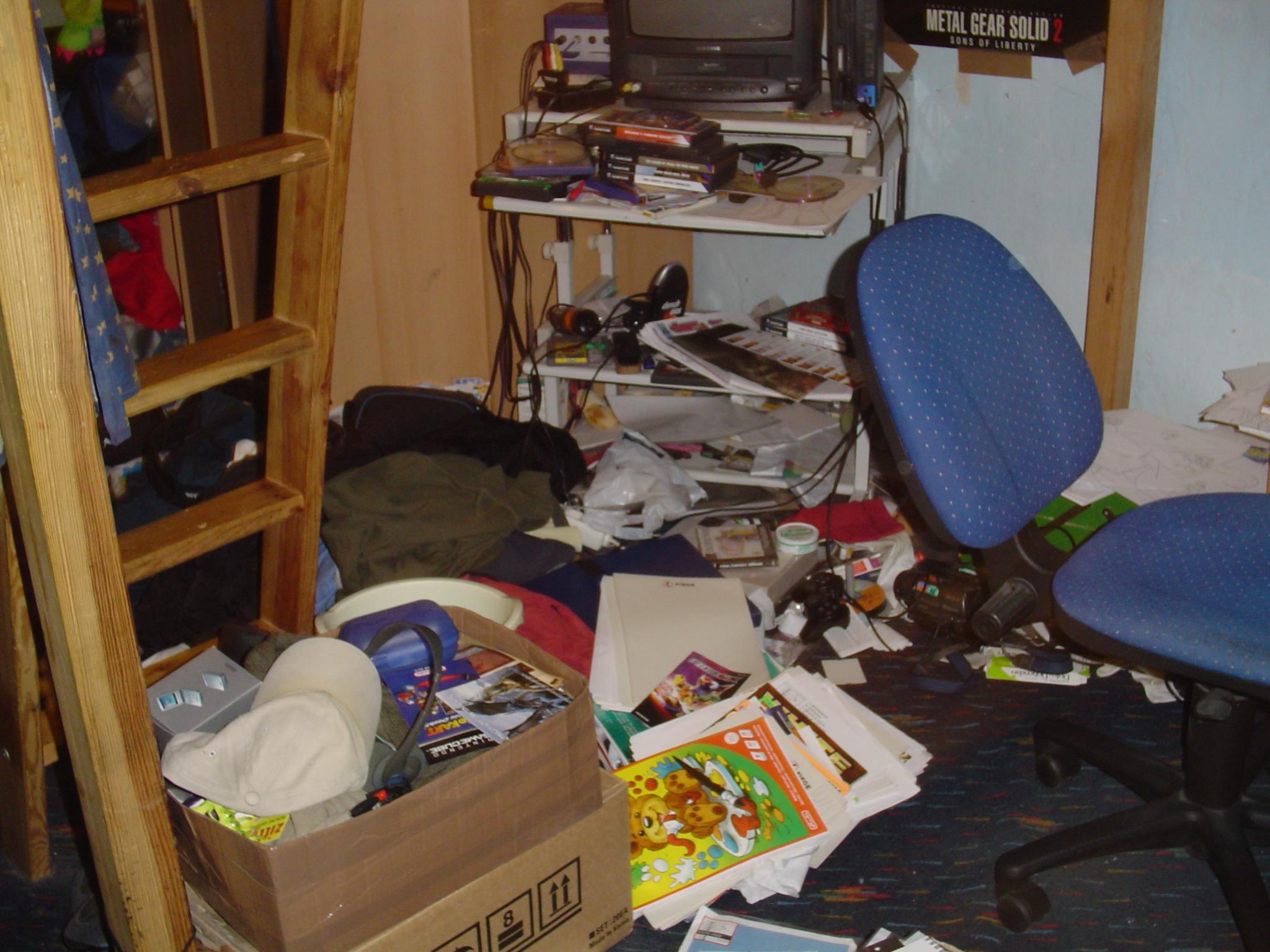 Das alltägliche Grauen im Zimmer unseres 19jährigen. Oder: Die ...
