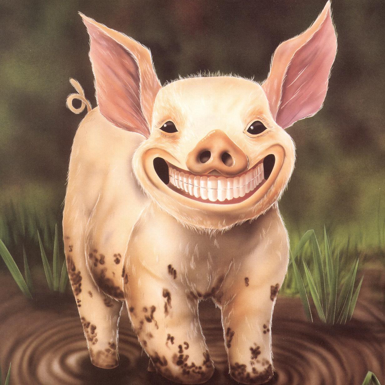 Если папа свин значит сын свиненок