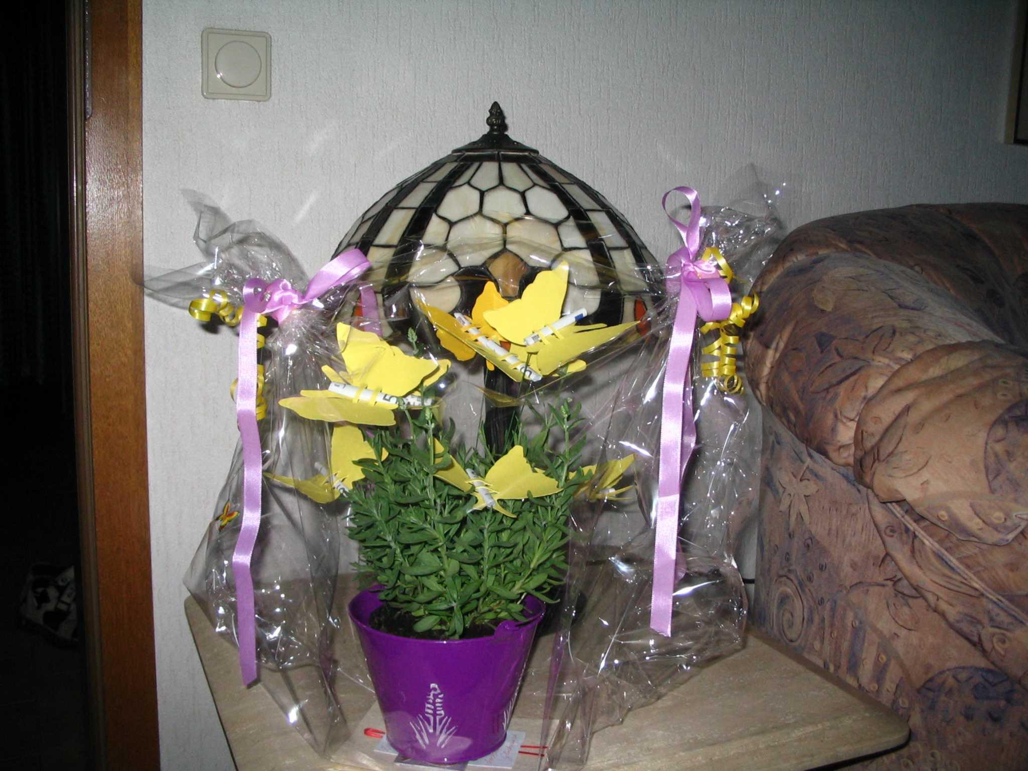 Hochzeitsgeschenk geld einbetonieren