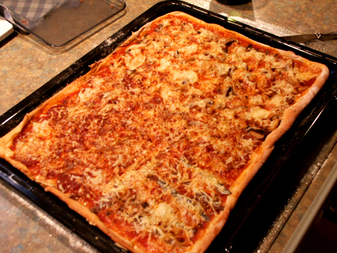 dieters pizzateig mit tomatensalsa pizza pikantes forum. Black Bedroom Furniture Sets. Home Design Ideas