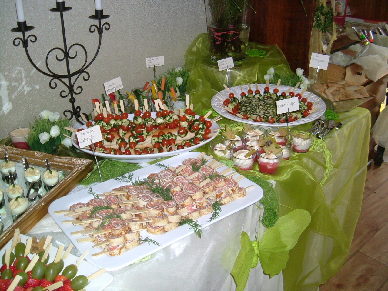 Fingerfood Buffett F R 100 Personen Fingerfood Forum