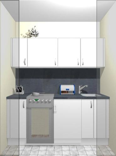 Kochnische einrichten - bitte um Hilfe | Küchenausstattung Forum ... | {Miniküche einrichten 38}