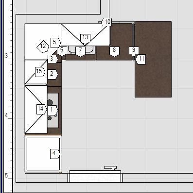 Kleine Ikea-Küche - Hilfe bei der Planung benötigt ...