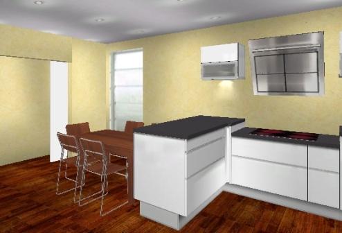 Küchentisch aus arbeitsplatte  küchentisch integriert in arbeitsplatte - Bestseller Shop für ...
