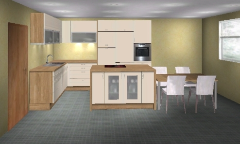 Planung offene Küche - mag mal jemand draufschauen ...