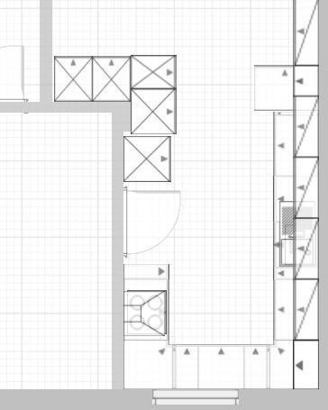 k chenplanung f r eine kleine geschlossene k che k chenausstattung forum. Black Bedroom Furniture Sets. Home Design Ideas